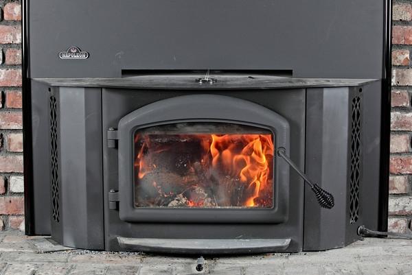 Review Napoleon 1402 Wood Burning Insert Custom Steel Baffles Nate Covington