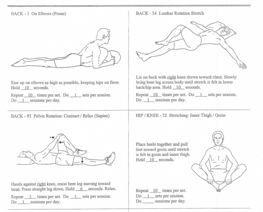 Stretches and Exercises to Help Relieve Lower Back Pain